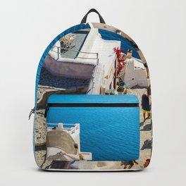 Oia,Santorini Backpack