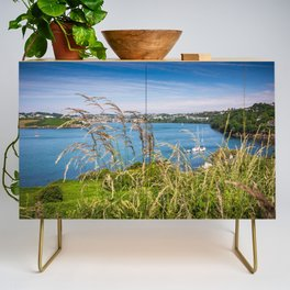 View of Kinsale, Ireland from Summer Cove Credenza