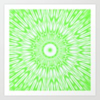 lime green Art Prints featuring Lime by Simply Chic