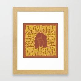 borns Framed Art Print