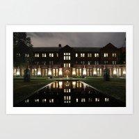 will graham Art Prints featuring Graham by Raffy Joseph Padua
