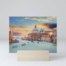 Grand Canal in Venice, Italy Mini Art Print