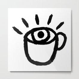 eye see coffee Metal Print