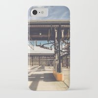 pocket fuel iPhone & iPod Cases featuring Fuel Station by Dave Rasura