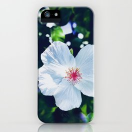 Hibiscus Perfection iPhone Case