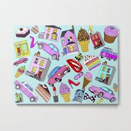 Candy London Metal Print