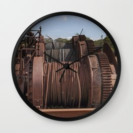 Steel Cables Wall Clock