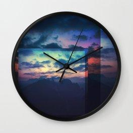 Fractions C04 Wall Clock