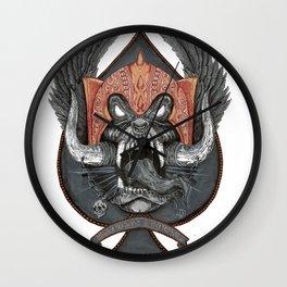 Motorhead Warpig Crest Wall Clock