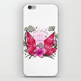 you deserve the stars iPhone Skin