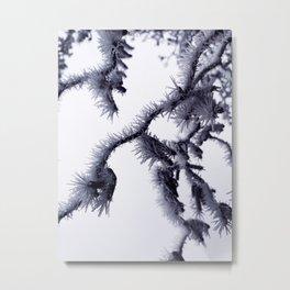 shadow branches Metal Print