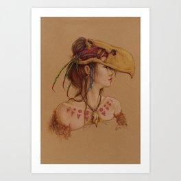 Titanis Walleri Art Print