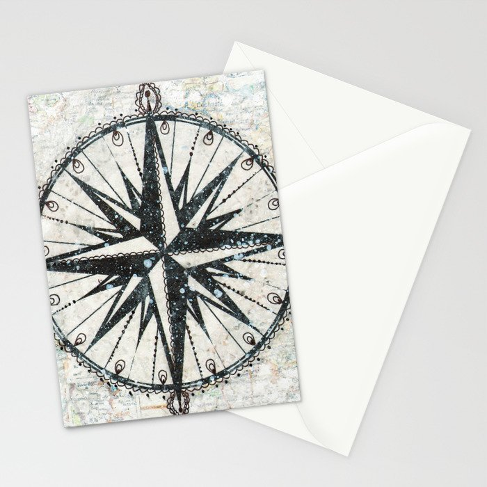 Live Travel Adventure Bless Stationery Cards