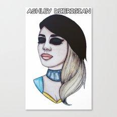 Miss Ashley Dzerigian Canvas Print