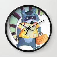 doctor Wall Clocks featuring doctor by miremari