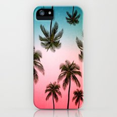 palm tree  Slim Case iPhone (5, 5s)