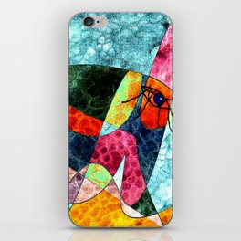 The laughing horse iPhone Skin