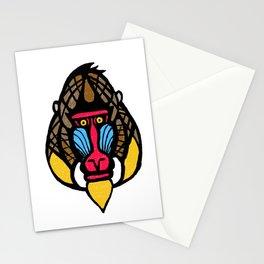Mandrill Monkey Stationery Cards