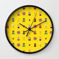 avenger Wall Clocks featuring Avenger by ShannonHatchNZ