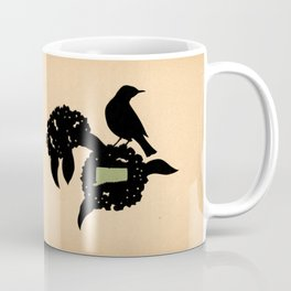 Connecticut - State Papercut Print Coffee Mug