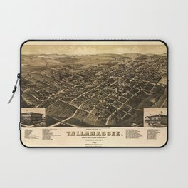 Aerial View of Tallahassee, Florida (1885) Laptop Sleeve