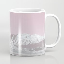 Mojave Snowcaps // Las Vegas Nevada Snowstorm in the Red Rock Canyon Desert Landscape Photograph Coffee Mug
