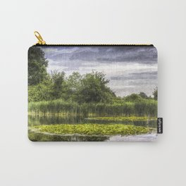 Lily Pond Art Carry-All Pouch