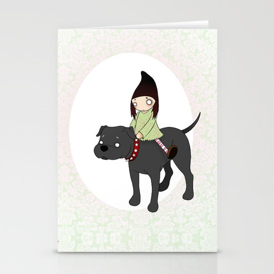 Me and my Boy Stationery Cards