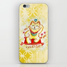 Lucky Cat iPhone Skin