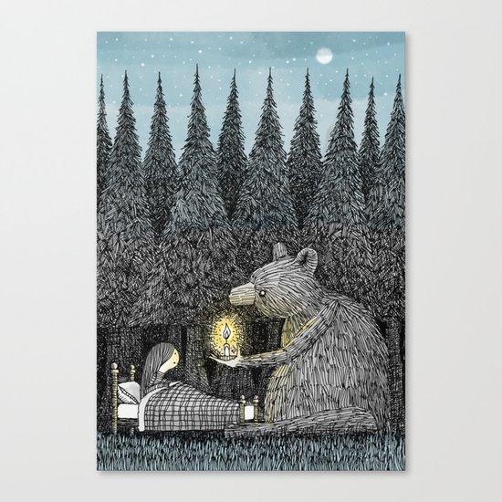 'Night Light' Canvas Print