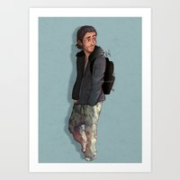 camouflage Art Prints featuring Camouflage by Laia™