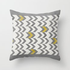Another Chevron Throw Pillow