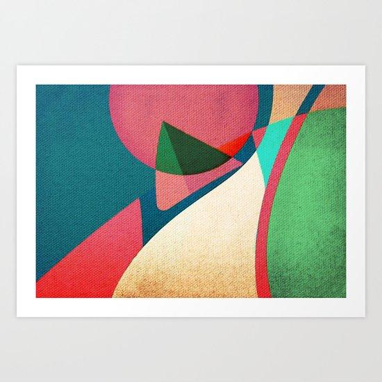 Piccola Barca Art Print