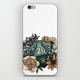 Cleric Class D20 - Tabletop Gaming Dice iPhone Skin