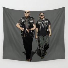 Men Of Mayhem Wall Tapestry