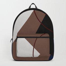 Vintage Constructivism Art Design Backpack