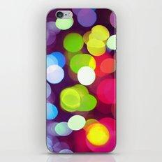 Light Dots iPhone Skin