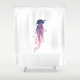 Amethyst Squishy Shower Curtain