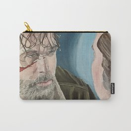 Rick and Negan, oil painting Carry-All Pouch