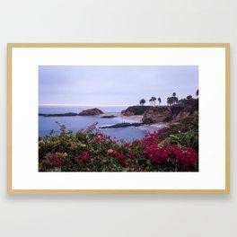 Laguna Beach Overlook Framed Art Print