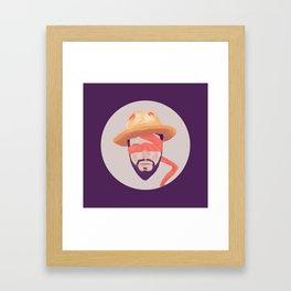Voluntary Blindness Framed Art Print