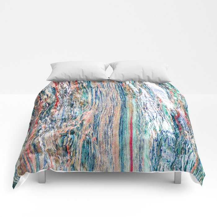 Colorful Mineral Comforters
