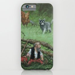 Pointed hat iPhone Case