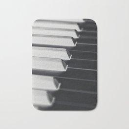 Abstract Piano Bath Mat