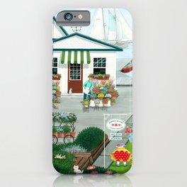 Purr-fect Blooms iPhone Case