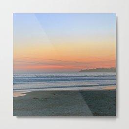 Sunset at Stinson Beach. Metal Print