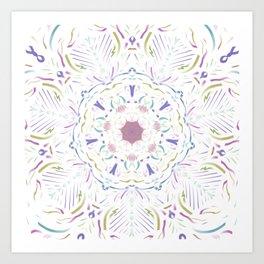 Inner Musings Mandala Art Print