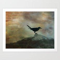 Bird Panel II Art Print