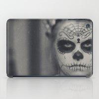 dia de los muertos iPad Cases featuring Dia de los muertos by Brandy Coleman Ford