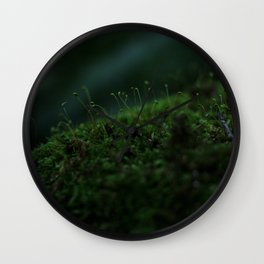 In the Moss Wall Clock